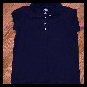 Oshkosh girls size 14 navy top